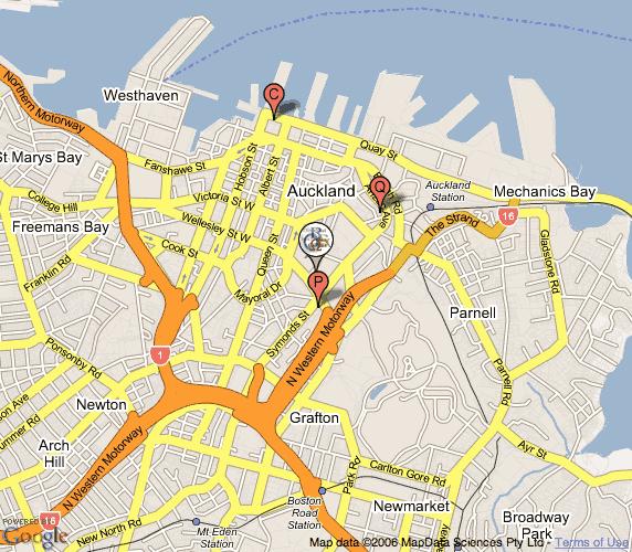 DSC 2007 Map