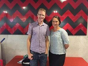 Theresa Fleming and Simon Denny